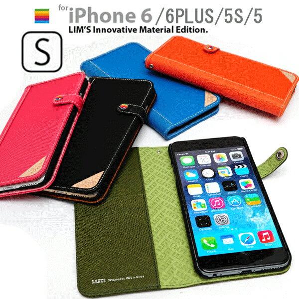 LIM'S iPhone6S iPhone6SPLUS iPhone6 iPhone 6 PLUS iPhone5S iPhone5 CORDURA 本革 手帳型 ケース レザー レザーケース 6S 5S 5 アイフォン6S SE アイフォン6 アイフォン5S 革 手帳 手帳型ケース ブランド スマホ スマホケース カバー バンパー ストラップ PLUSケース