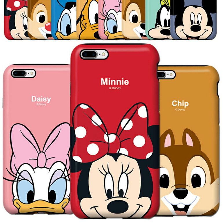 ディズニー ダブル バンパー ケース iPhoneX iPhone8 iPhone7 iPhone6S iPhone6 galaxy S8 S8+ iPhone8PLUS iPhone7PLUS PLUS iPhone X 8 7 カバー かわいい キャラクター 韓国 海外 アイフォンX アイフォン8 グーフィー iPhone7ケース アイフォン8ケース iPhoneケース