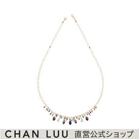 チャンルー マルチチャーム ネックレス レディース 全2色 NG-13680 チャン・ルー CHAN LUU 直営 公式ショップ