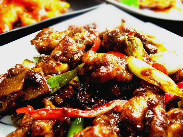 鶏肉と青葱の味噌炒め(200g)