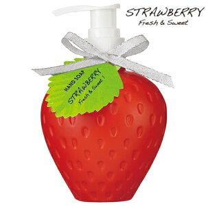 ボディソープストロベリー240mlボディーソープいちごイチゴ苺香りアロマかわいいおしゃれ可愛い雑貨バレンタインホワイトデー