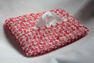 給有孔玻璃珠口袋手巾紙情况☆女子能力加上差別吧!☆!♪