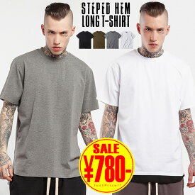 Tシャツ メンズ 半袖 ビッグシルエット 無地 綿 プリント 大きいサイズ メンズ Tシャツ 半袖 半袖Tシャツ おしゃれ ロング丈 白 ビッグTシャツ オーバーサイズ Uネック カットソー ビッグT アメカジ ティーシャツ 黒 ブラック クルーネック 綿 コットン ストリート 原宿