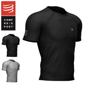 COMPRESSPORT コンプレスポーツ AM00014B トレーニング SS Tシャツ Training SS Tshirt メンズ トップス ブラックプロマラソン ランニング コンプレッション 加圧 ラン ランニング トライアスロン triathlon