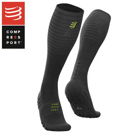 COMPRESSPORT コンプレスポーツ フルソックス FSULV2-BE19 Full Socks Oxygen Black Edition 2019 ソックス コンプレッション 加圧 ラン ランニング トライアスロン triathlon トライアスロンウェア