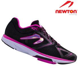 ニュートン ディスタンス8B NEWTON Distance8B W000619B Black/Fuscia ブラック フーシャ レディース ランニング マラソン ラン ランナーズシューズ