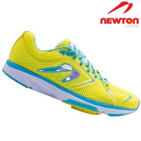 ニュートン ディスタンスS8 スタビリティレーサー NEWTON DistanceS8 Stability Racer W000819 Yellow/Blue イエロー ブルー レディース ランニング マラソン ラン ランナーズシューズ