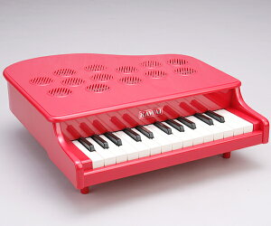 【送料無料】【あす楽】★特別特価★カワイミニピアノP-25(レッド)楽譜集プレゼント付♪【おもちゃ】【楽器】