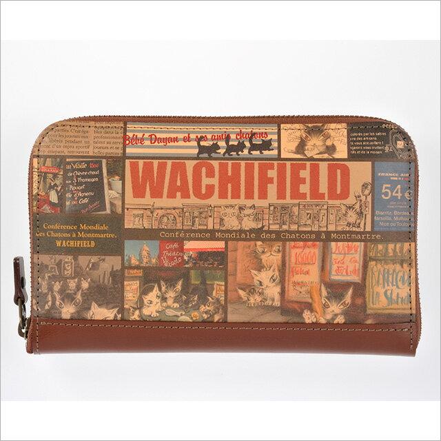 【あす楽】ダヤン わちふぃーるど 取り出しやすい革製ラウンド財布/パリのこねこ【お財布】【ダヤン】【楽ギフ_包装】