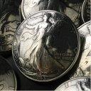 【41%OFF】Silver900 ハーフダラー銀貨 ≪直径31mmウォーキングリバティー コインコンチョ≫【燻し加工済み】[シル…