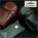【iPhone SE 5 5s 対応】次回入荷未定【ファニー】 スタリオン 革 携帯電話ケース 携帯入れ ハンディフォンケース 【FUNNY】 《STALLIO…