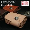 【即納】レッドムーン 財布 REDMOON MIDLINE レッドムーン ミッドライン 本革財布 サドルレザーショートウォレットHR-01C-MID レザー …