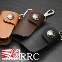 【正規取扱店】【即納】レッドムーン 財布 型 キーケース REDMOON RRC ダブルアールシー RRC-CW-KCC サドルレザー ウォレット型 キーケ…