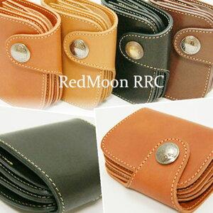 【送料無料】RRC-HR-01CREDMOONRRCレッドムーン本革二つ折りショートウォレット革財布[本革]