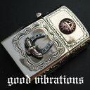 【送料無料】good vibrations グッドバイブレーション 真鍮ブラス・サンフェイス 幸運を呼ぶ ホースシュー 馬蹄 イーグル オイル…