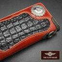 【即納】【手縫い】FLATHEAD/フラットヘッド 財布 ウォレット≪クロコダイル コードバン 多脂革 STOCKBURG(ストックバーグ)ロングウォ…
