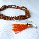 ◆【ルドラクシャ(菩提樹の実)マーラー ストリングタッセル】インド 菩提樹 シヴァ 礼拝 瞑想