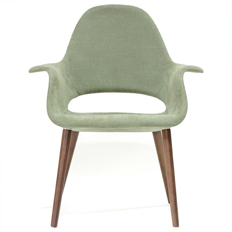 イームズ オーガニックチェア オーガニックアームチェア グレーグリーン リプロダクト ダイニングチェア おしゃれ かわいい 椅子 eames