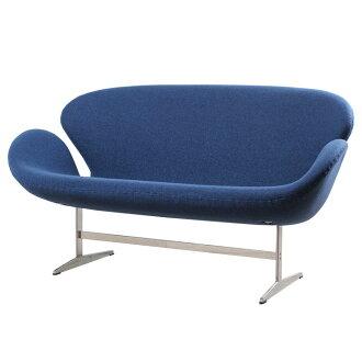 Arne Jacobsen Swan Sofa Blue