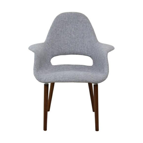 イームズ オーガニックチェア グレー アームチェア ダイニングチェア 椅子 イームズチェア eames おしゃれ かわいい リプロダクト ジェネリック