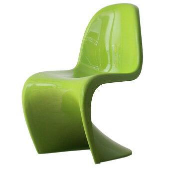 スタッキングチェア おしゃれ かわいい パントンチェア つやあり ツヤあり グリーン ジェネリック リプロダクト ヴェルナー・パントン デザイナー 椅子 スタッキング チェアー リプロダクト