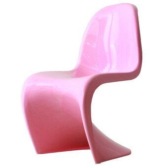スタッキングチェア おしゃれ かわいい パントンチェア つやあり ツヤあり ピンク ジェネリック リプロダクト ヴェルナー・パントン デザイナー 椅子 スタッキング チェアー リプロダクト