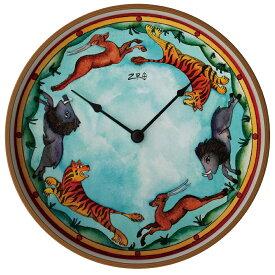 おしゃれ 掛け時計 おしゃれ 壁掛時計 おしゃれ オリバー・ヘミング ZIRO ジロ ウォールクロック BLUESKY ANIMALS ブルースカイアニマルズ Oliver Hemming