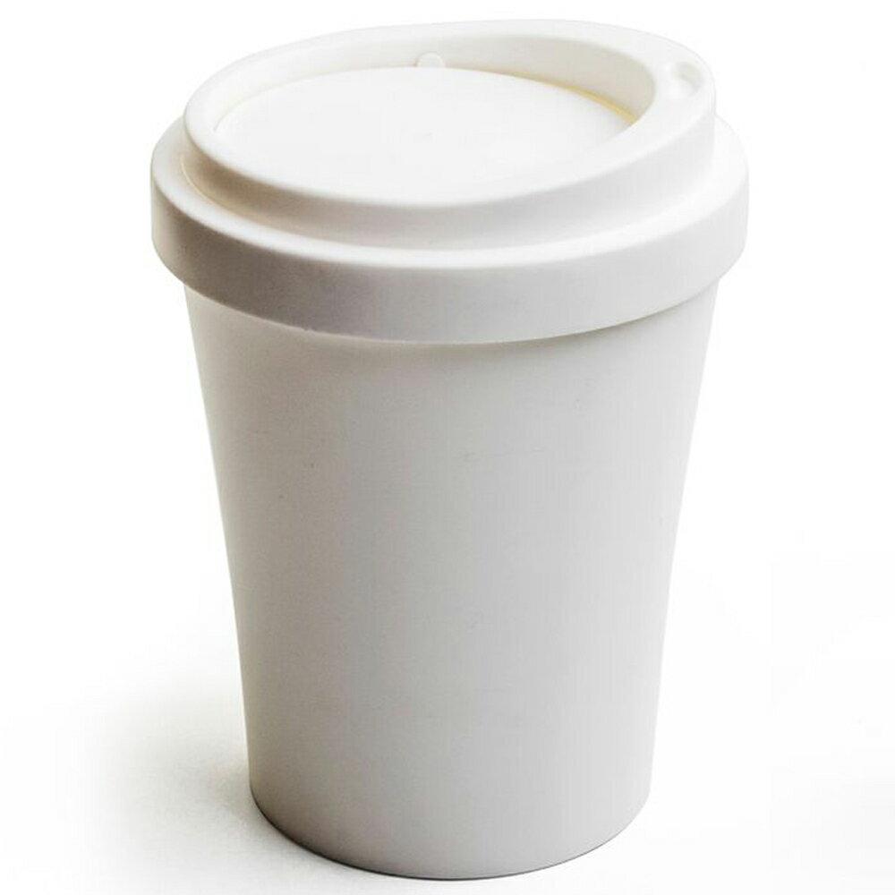 ゴミ箱 おしゃれ ふた付き かわいい ごみ箱 蓋つき クオリー QUALY コーヒービン COFFEE BIN フタ付きゴミ箱 フロアー用 ホワイト