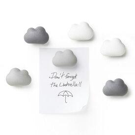 マグネット おしゃれ かわいい クオリー QUALY クラウドマグネット Cloud Magnet かわいい雲のマグネット