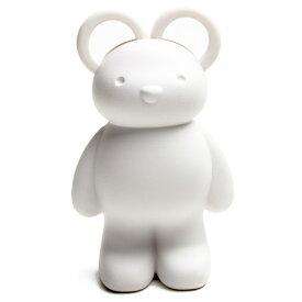 しろくま 雑貨 シロクマ グッズ 白くま 白熊 おしゃれ かわいい 文房具 はさみ ハサミ クリップ クオリー QUALY クオリー テディーベアー シザーズ&クリップホルダー ホワイト