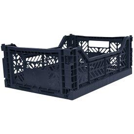 コンテナ 折りたたみ コンテナボックス 折りたたみ 収納ボックス エーワイカーサ ay kasa マルチウェイ ミディボックス ネイビー Multiway Midibox 収納ケース おしゃれ かわいい かっこいい
