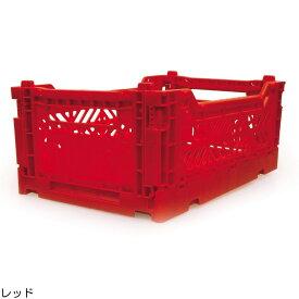 コンテナボックス おしゃれ 折りたたみ 収納ボックス エーワイカーサ ay kasa マルチウェイ ミニボックス レッド Multiway Minibox コンテナ 収納ケース かわいい かっこいい