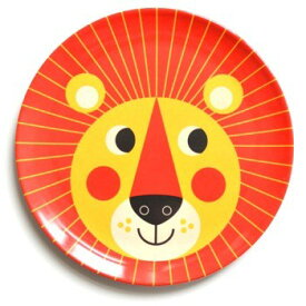 メラミン 皿 食器 北欧雑貨 おしゃれ かわいい 子供 OMM-design メラミンプレート ライオン Lion Ingela P Arrhenius インゲラ・アリアニウス