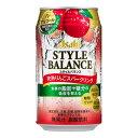 飲料 アサヒ スタイルバランス 完熟りんごスパークリング350ml ケース ( 24本入り ) [アルコール0.00%] ≪機能性表示食品 食事の脂肪や糖分の吸収を抑える≫ 【お取り寄せ商品】