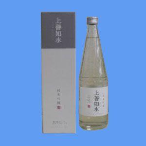 白瀧酒造 上善如水(じょうぜんみずのごとし) 純米吟醸 720ml