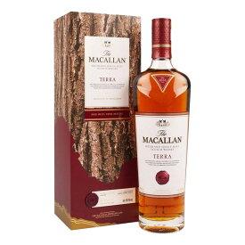 お酒 ギフト ウイスキー スペイサイド シングルモルト マッカラン テラ 43.8° 700ml ≪ 箱入り ≫