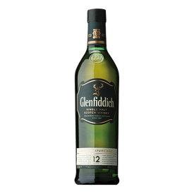 お酒 ギフト ウイスキー グレンフィディック 12年 40° 700ml