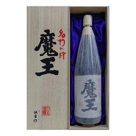 お酒 ギフト 白玉醸造 魔王 25° 1800ml ≪ 魔王専用桐箱入り ≫【 条件付き送料無料 】