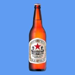 サッポロ ラガービール大瓶633mlケース(20本入り) 【お取り寄せ商品】