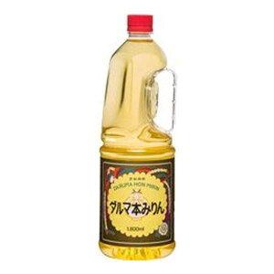 料理酒 中国醸造 ダルマ 本みりん ペット 13.5° 1800ml