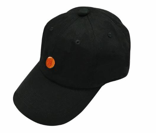 ドラゴンボール 四星球 刺繍キャップ 帽子 ブラック