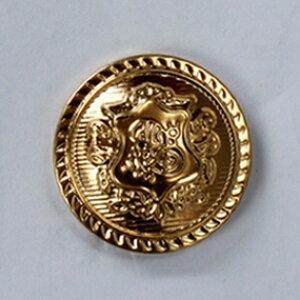 キャラヌノ メタルボタン01 - ゴールド01 - 23mm