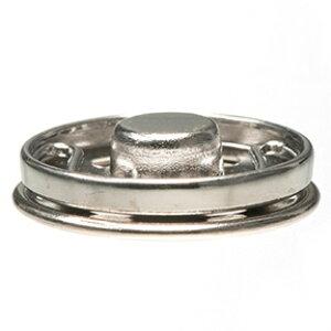 スナップボタン01 シルバー 19mm