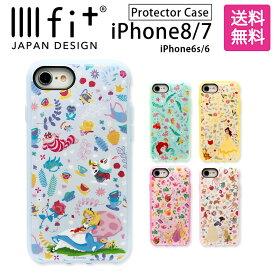 0572c735b6 iPhone8 ケース iPhone7 ディズニー プリンセス IIIIfit イーフィット | スマホケース iPhoneケース アリス  リトルマーメイド 美女