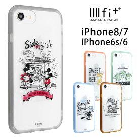 ディズニー iPhone8 iPhone7 ケース IIIIfit clear クリアケース おしゃれ スマホケース ドナルド トイストーリー カバー ジャケット iPhone8ケース ハイブリッド クリア ハードケース アイフォン 7 アイホン 8 かわいい グッズ