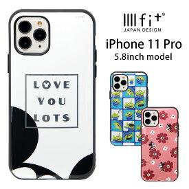 ディズニー iPhone 11 Pro ケース IIIIfit ハードケース かわいい スマホケース カバー ジャケット ミニー ハイブリッド キャラクター ハードケース アイフォン11 Pro アイホン 11PRO iPhone11 プロ オシャレ グッズ