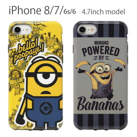 a1f536ad9e 怪盗グルーシリーズ ミニオンズ iPhone8 iPhone7 iPhone6s/6 4.7インチモデル対応 ソフトケース ストラップ