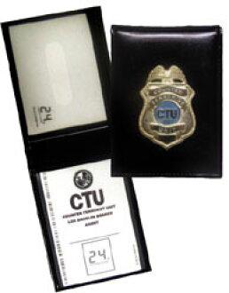 24 CTU 메탈 로고 삽입 패스 케이스