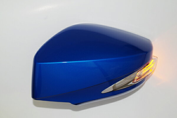 チャージスピード CHARGESPEED 撃速 スバル BRZ ZC6 LEDウインカー付ドアミラー WRブルーマイカ 02C