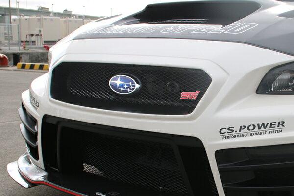 チャージスピード CHARGESPEED BOTTOMLINE WRX STI VAB WRX S4 VAG スバルマークベース FRP製 黒ゲル